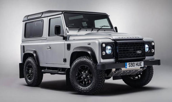land rover raise £400,000 for charities with special edition auction