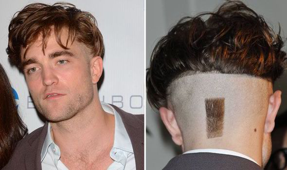 Robert Pattinson MOST RIDICULOUS haircut: Twilight star ops for tuft ...