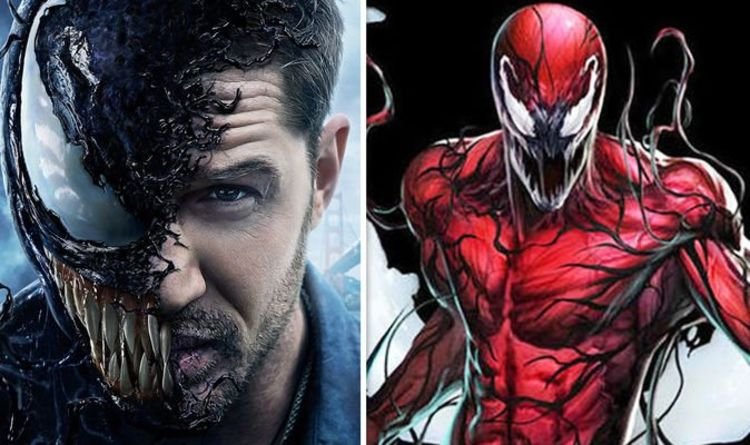 Venom 2 Theory Tom Hardy S Teaser Means Venom Will Lose To Carnage In Marvel Sequel Films Entertainment Express Co Uk