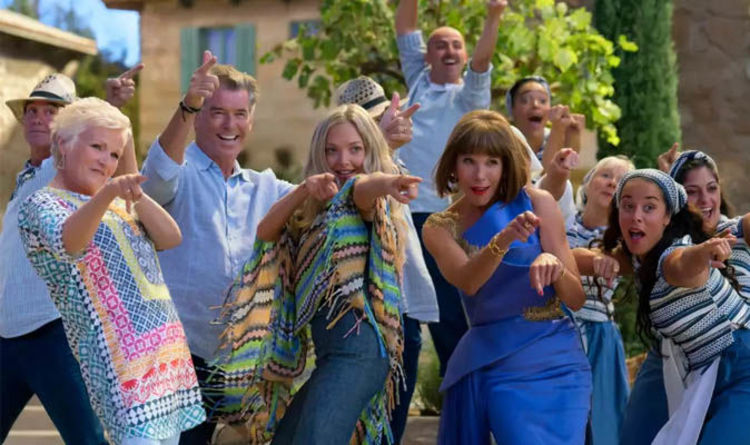 Mamma Mia 2 On Dvd When Is Here We Go Again Out On Dvd And Blu Ray