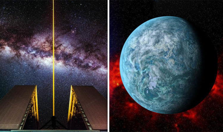 Image result for MIT says existing laser tech could attract alien astronomers