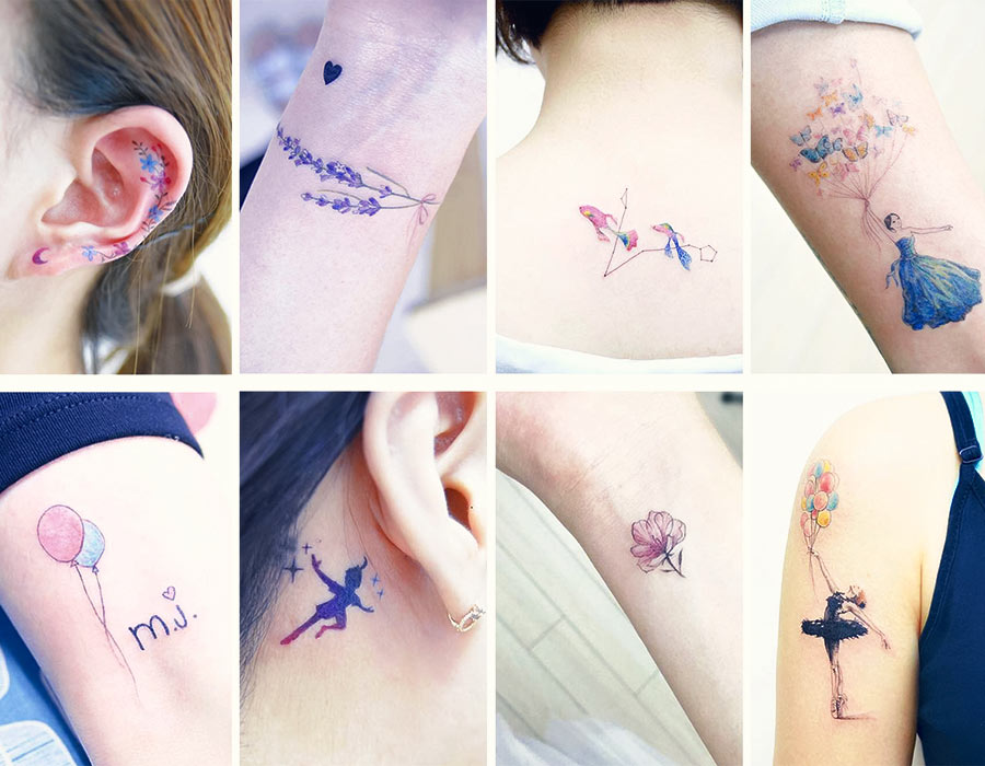 50+ Absolutely Cute Small Tattoos For Girls With Their Meanings ...