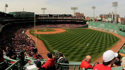 Fenway Park Seating Looking At