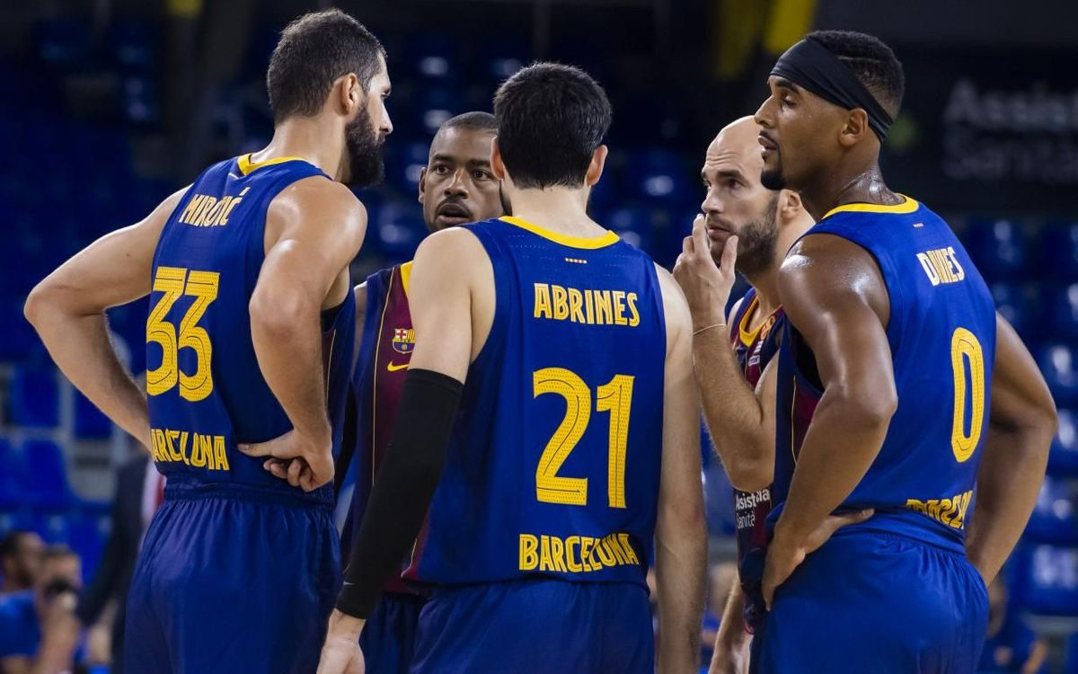 Barcelona will travel to St. Petersburg without Saras   TalkBasket.net