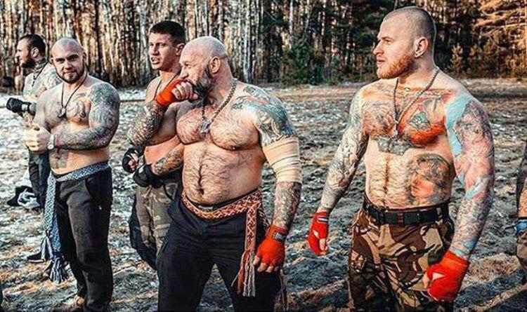 Bildergebnis für World Cup 2018 BLOODBATH: Russian hooligans warn England fans 'Prepare to DIE'