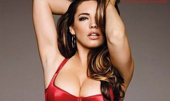 d3c077fcf19 Kelly Brook unveils first glimpse of her official 2015 calendar ...