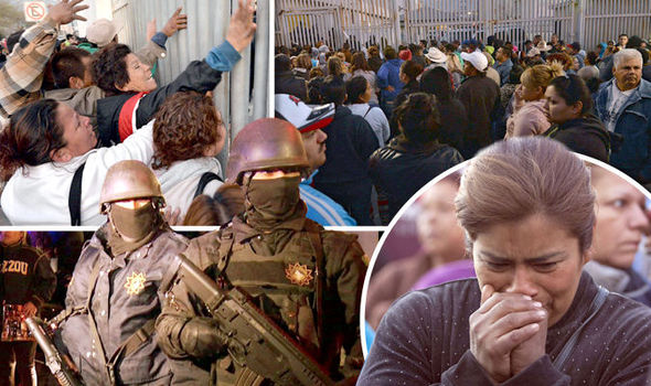 Mexico Prison Riot In Monterrey Leaves 52 People Dead As Rival Drugs