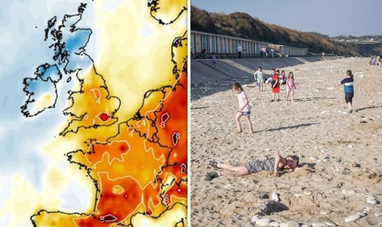 Looking For Warm Weather In All Wrong >> Uk Weather Forecast Warmer Air On Way Will There Be A Heatwave