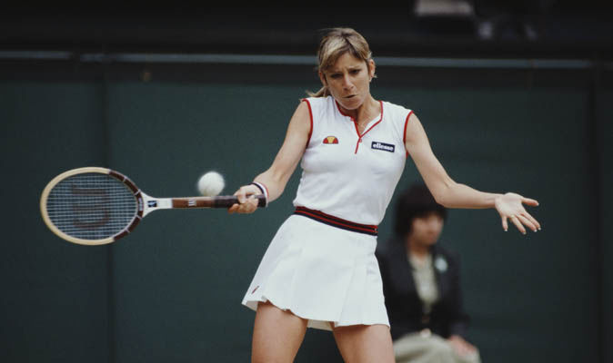 wholesale dealer cd8fe 6a43d Chris Evert Tennis golden girl whos never had a lasting love match