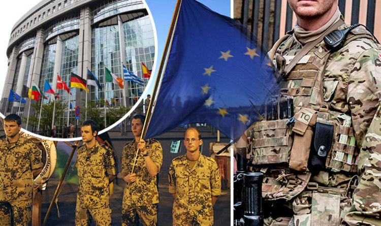 Image result for eu army daily express