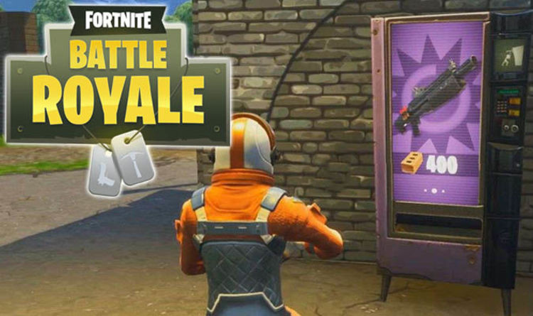 Vending Machines Fortnite How To Solve Use A Machine Battle Royale Challenge
