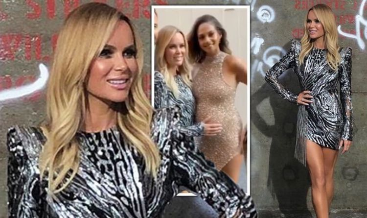 7ead6b600782b BGT 2019: Amanda Holden and Alesha Dixon wow as they step out in exact same  dress style