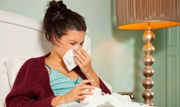 blocked nose sore throat cough how to spot symptoms and self