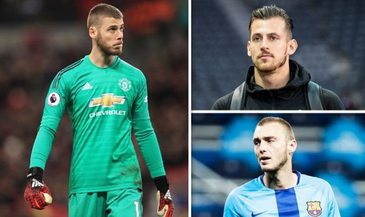 44bd9f49b61 Man Utd could sign one of these FOUR goalkeepers if David de Gea quits Old  Trafford