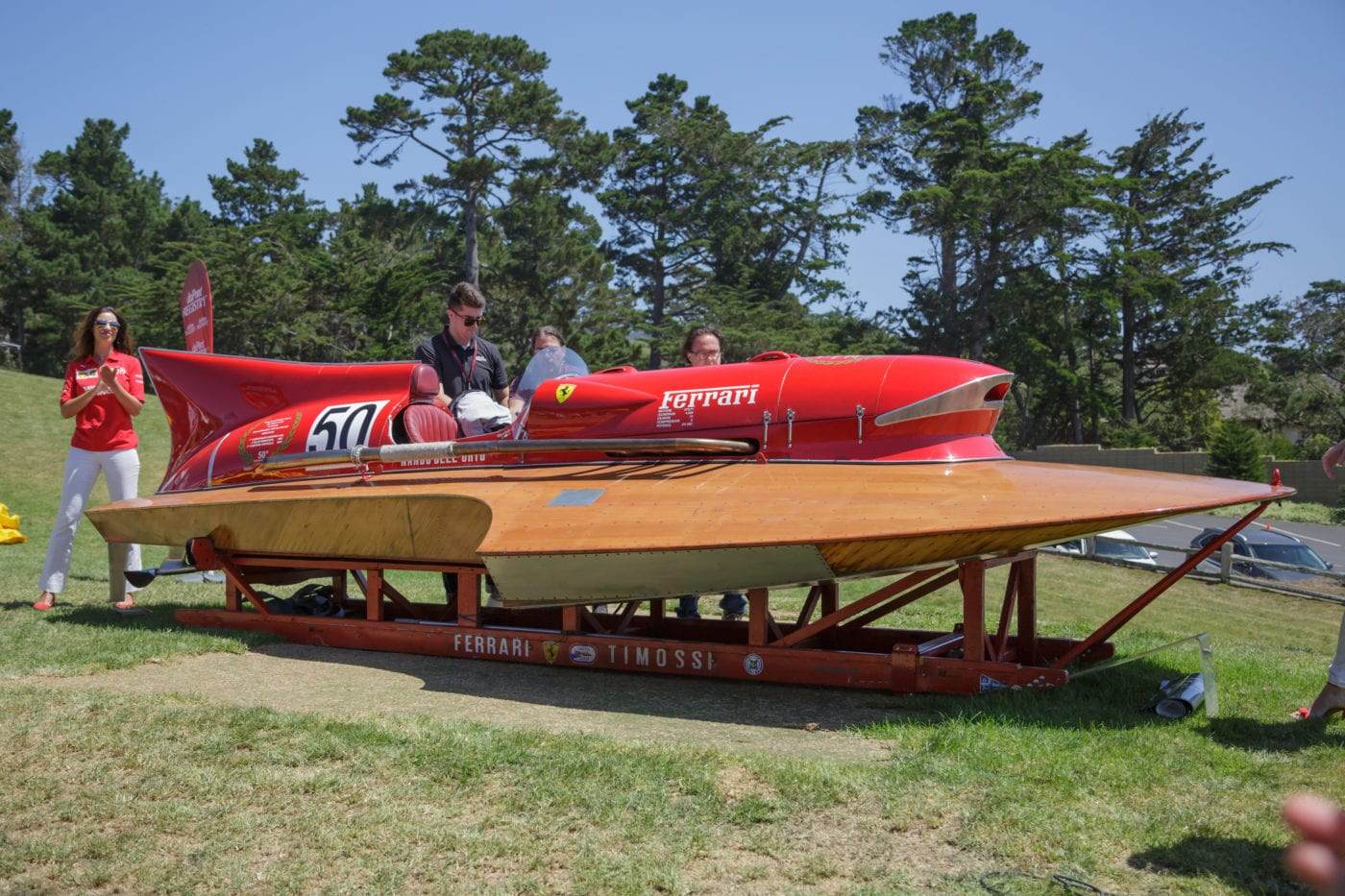 The Only Ferrari Powered Racing Boat Has Landed In The U S For The 1st Time Ever