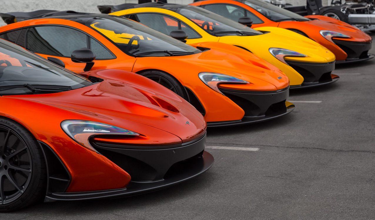 Top 5 Mclaren Colors