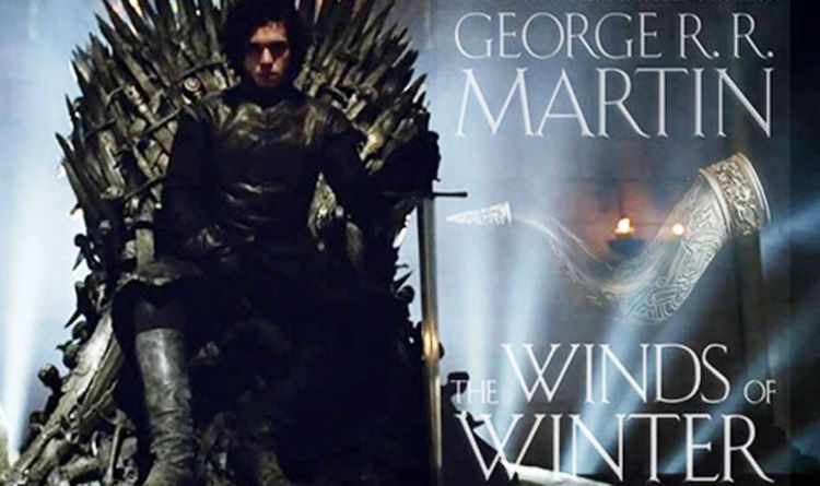 Winds Of Winter Is FINISHED And I Have A Copy Fan Frenzy After THIS Cover Image Online