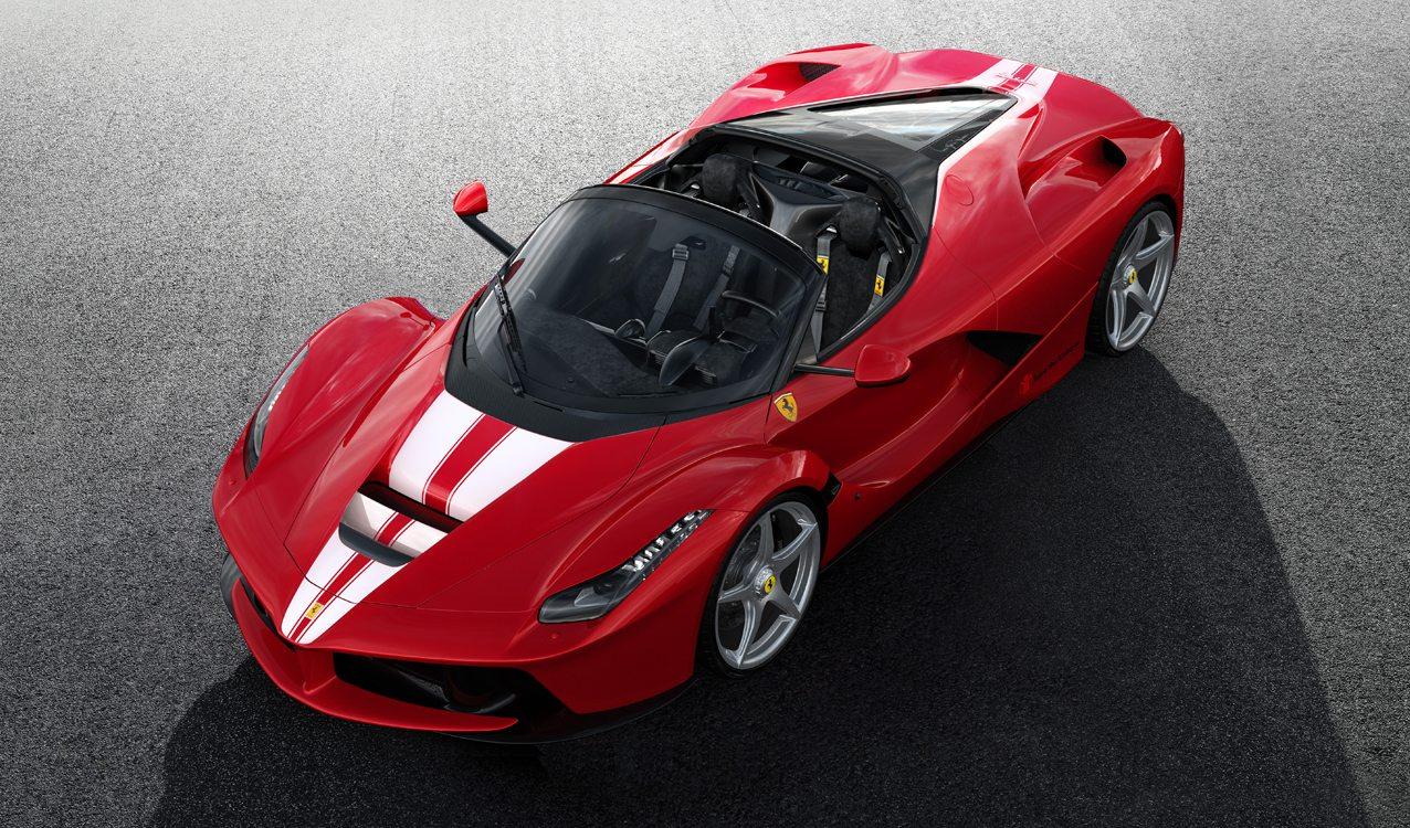 2018 Ferrari Laferrari Aperta Specs Price Photos Review
