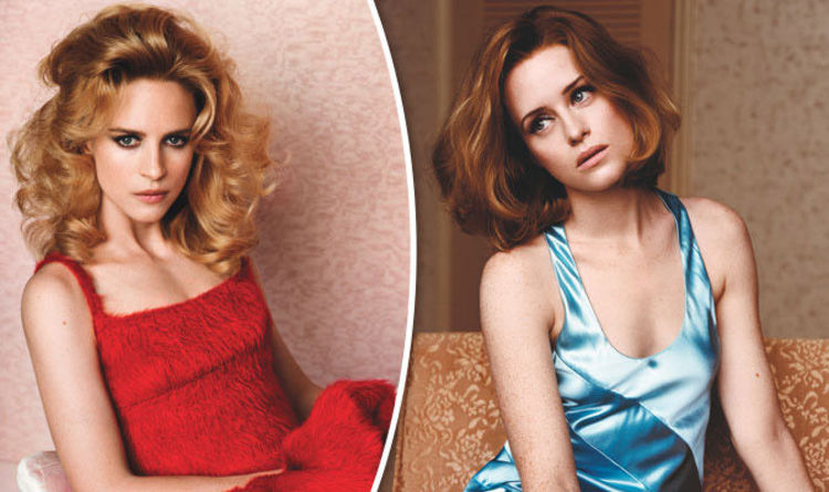 Claire Foy Hot >> Netflix Stars Claire Foy Brit Marling Look Unrecognisable In Sexy