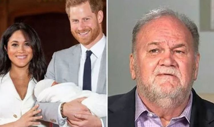 b28a0b0ce5 Meghan Markle's father Thomas branded 'awful' by ex-wife in STUNNING attack