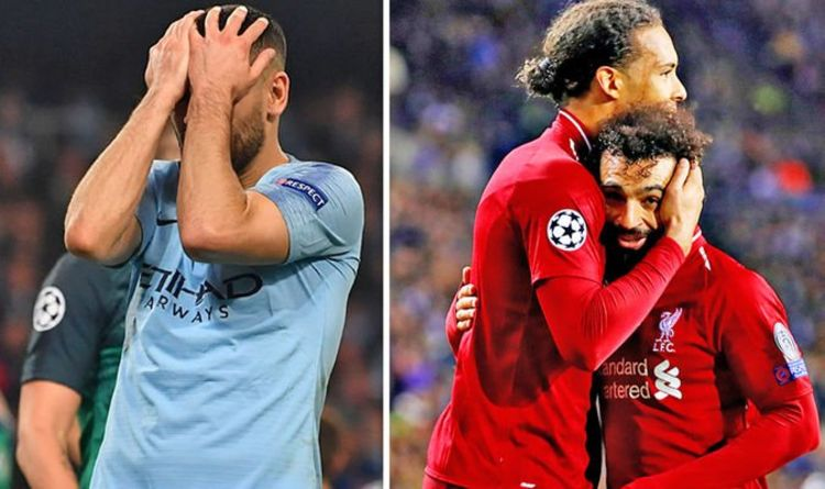 e57ee355e Man City losing to Tottenham in Champions League is BAD news for Liverpool