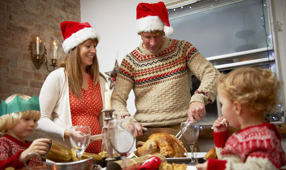family ready for a christmas dinner - What To Do Christmas Day