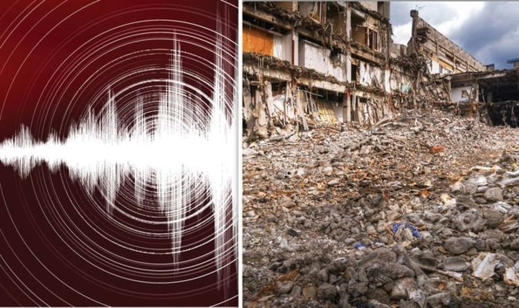 Earthquake shock: Catastrophic tremor which could DESTROY