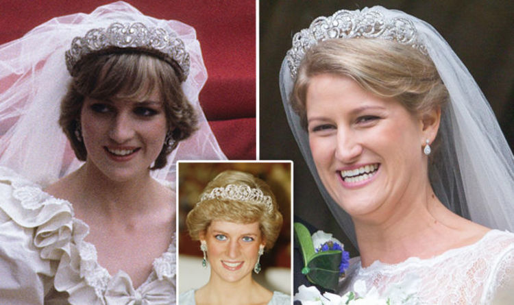 Princess Diana Wearing The Spencer Tiara Diana S Niece Was The