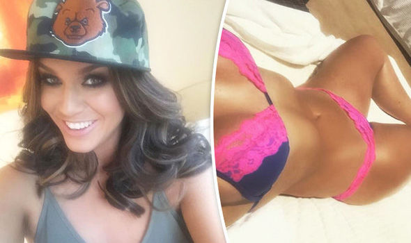 b9d397afff3ae Vicky Pattison strips down to sexy lace bikini for sizzling selfie ...