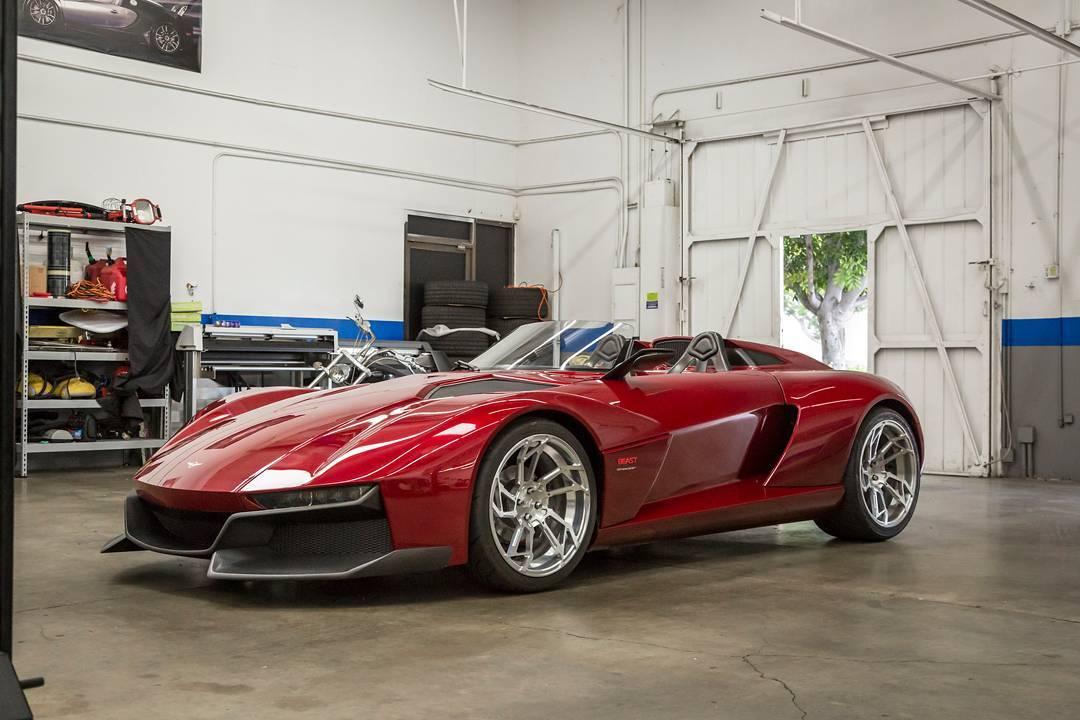 The Rezvani Beast On Jay Leno S Garage