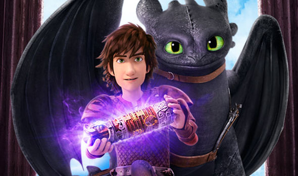 How to train your dragon netflix show lands in june tv radio hiccup and toothless in their new netflix show ccuart Choice Image