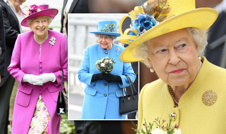 f98910343a30 Queen Elizabeth II s style secret - is THIS why Her Majesty always wears  bright colours