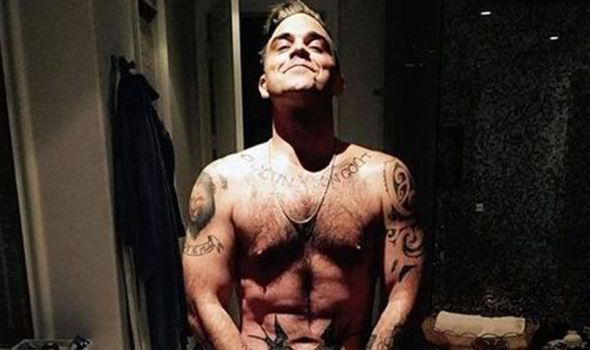 Robbie william nude images 72