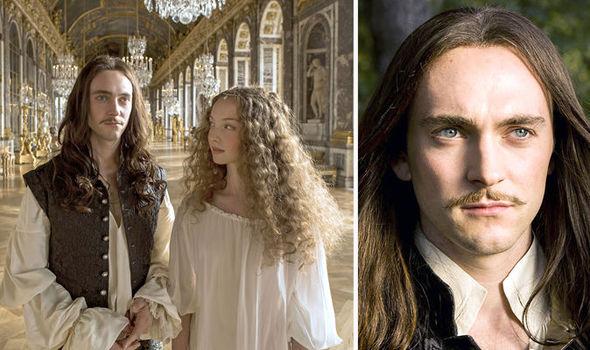 George Blagden As Louis Xiv In Versailles