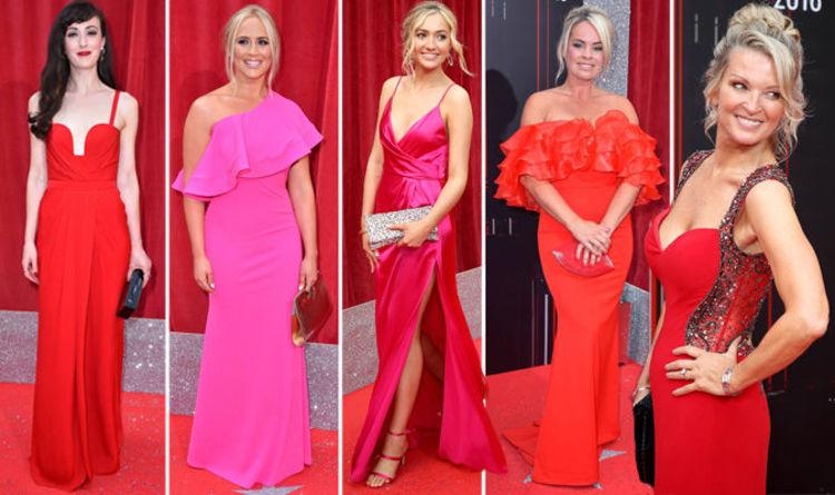 british soap awards 2018 red carpet best dressed tv stars in