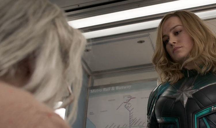 Captain Marvel Trailer Why Did Captain Marvel Punch An Old Lady On