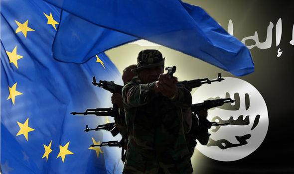 Image result for terrorism in eu