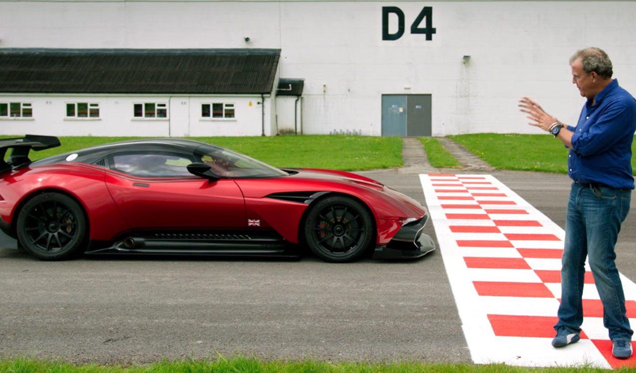 Aston Martin Vulcan Reviewed By Jeremy Clarkson