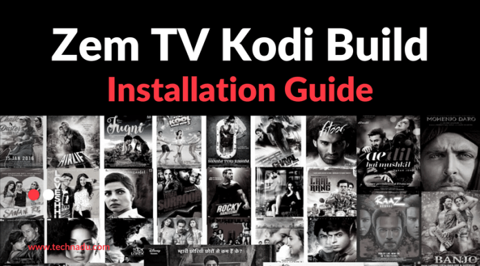 Zem TV Kodi Addon – A Mixture of Content from India and Pakistan!