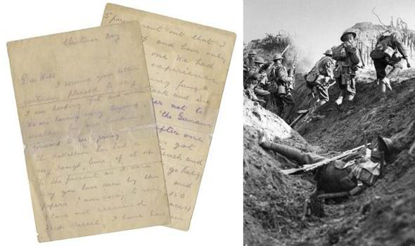ww1 christmas truce letter - Wwi Christmas Truce