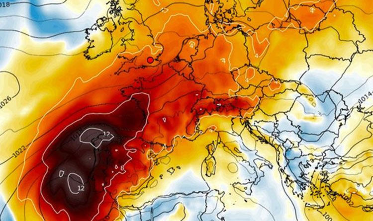 Map Of France Weather.Holiday Weather Warning Extreme 48c Heat Alert Issued In Spain