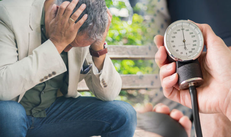 High blood pressure symptoms: Four signs your blood pressure is too