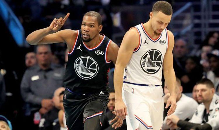 4edcc3e1884 Kevin Durant  NBA All Star MVP makes Steph Curry and Klay Thompson trash  talk revelation