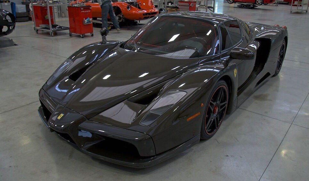 1 Of 1 Naked Carbon Fiber Ferrari Enzo For Sale