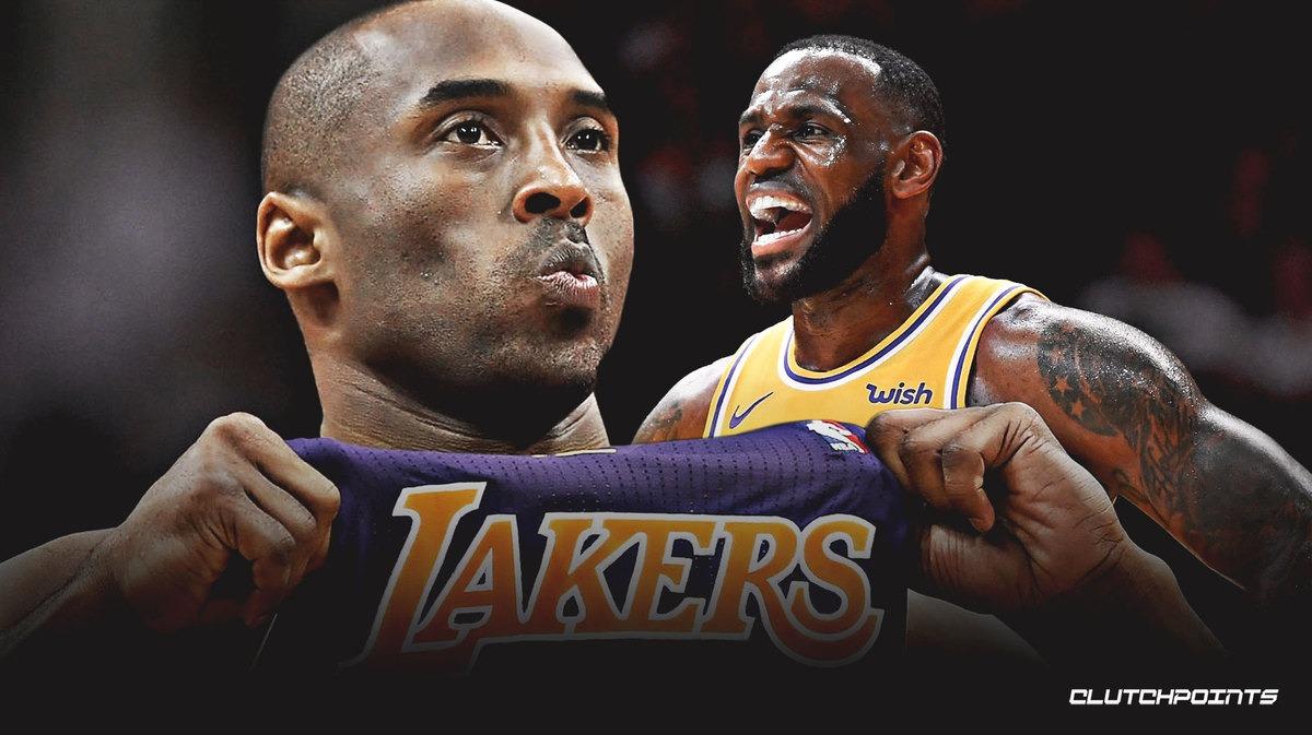 Lebron James Remembers Kobe Bryant By Performing Kobe S Trademark Dunk Talkbasket Net