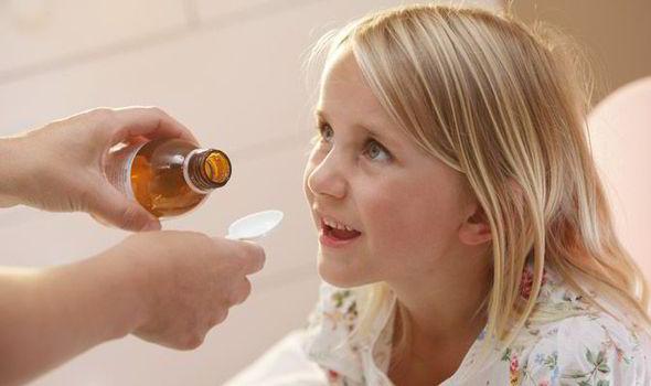 Image result for kids drinking medicine