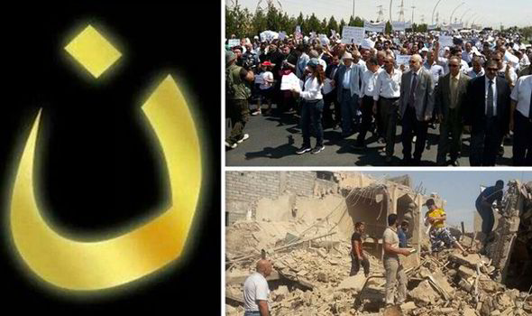 Online Symbol Of Solidarity After Isis Tell Iraqi Christians To