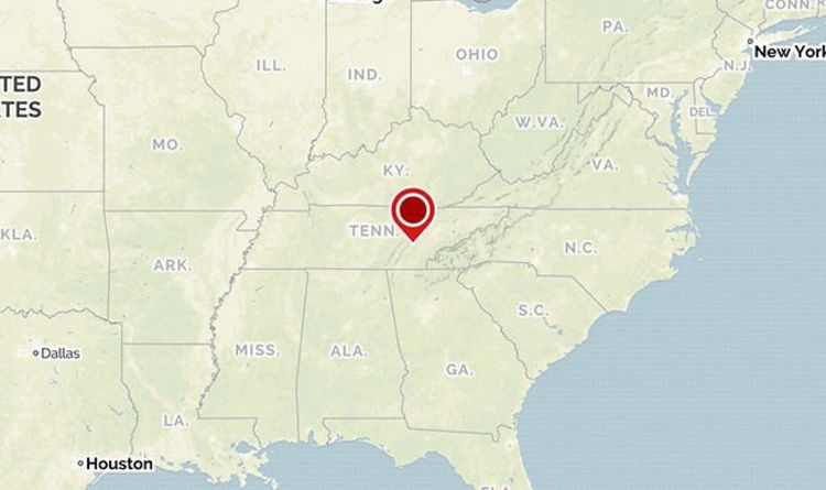 Tennessee Earthquake Magnitude 4 4 Quake Hits Decatur Georgia And