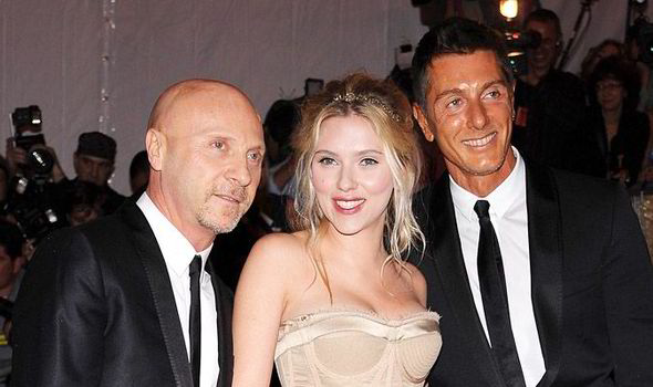 1f62983e8cc Dolce and Gabbana with Scarlett Johansson WireImage. Domenico Dolce and  Stefano ...