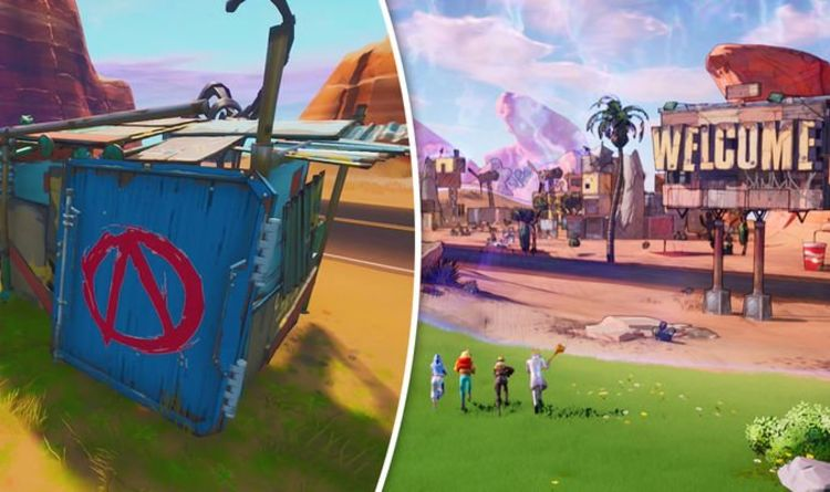 Fortnite Vault Symbols Map Locations For Welcome To Pandora Challenge Gaming Entertainment Express Co Uk